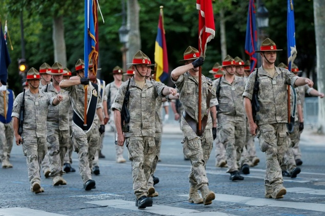 Brazil builds fleet to parade military on world stage
