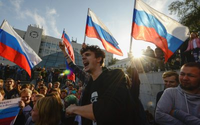 Russia's street protests melt away